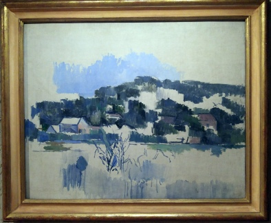 Another favorite, Cezanne in blue